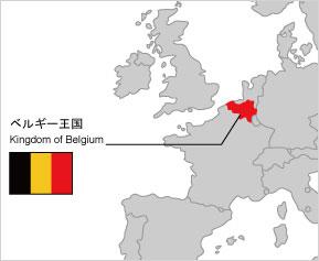 ベルギー王国 地図
